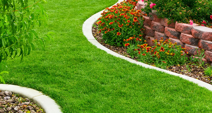 Lawn Edging Installations and Services Greater Victoria BC