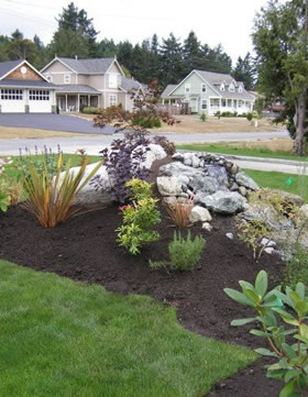 Rock Landscaping Features