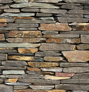 Dry Stone or Fieldstone Rock Retaining Walls