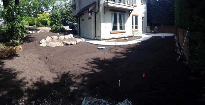 Landscaping an established Property in Victoria BC